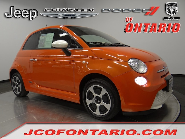 2016 FIAT 500e Battery Electric HB in Ontario, CA