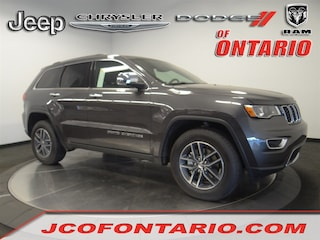 New 2018 Jeep Grand Cherokee LIMITED 4X2 Sport Utility 1C4RJEBM8JC514566 for sale in Ontario, CA at Jeep Chrysler Dodge of Ontario