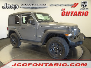New 2018 Jeep Wrangler SPORT 4X4 Sport Utility 1C4GJXANXJW289336 for sale in Ontario, CA at Jeep Chrysler Dodge of Ontario
