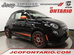Used 2016 FIAT 500e Battery Electric HB for sale in Ontario, CA at Oremor Automotive Group