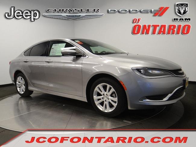 2016 Chrysler 200 Limited Sedan in Ontario, CA