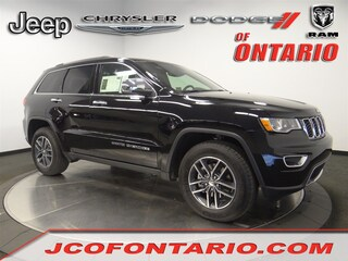 New 2018 Jeep Grand Cherokee LIMITED 4X2 Sport Utility 1C4RJEBM2JC514529 for sale in Ontario, CA at Jeep Chrysler Dodge of Ontario