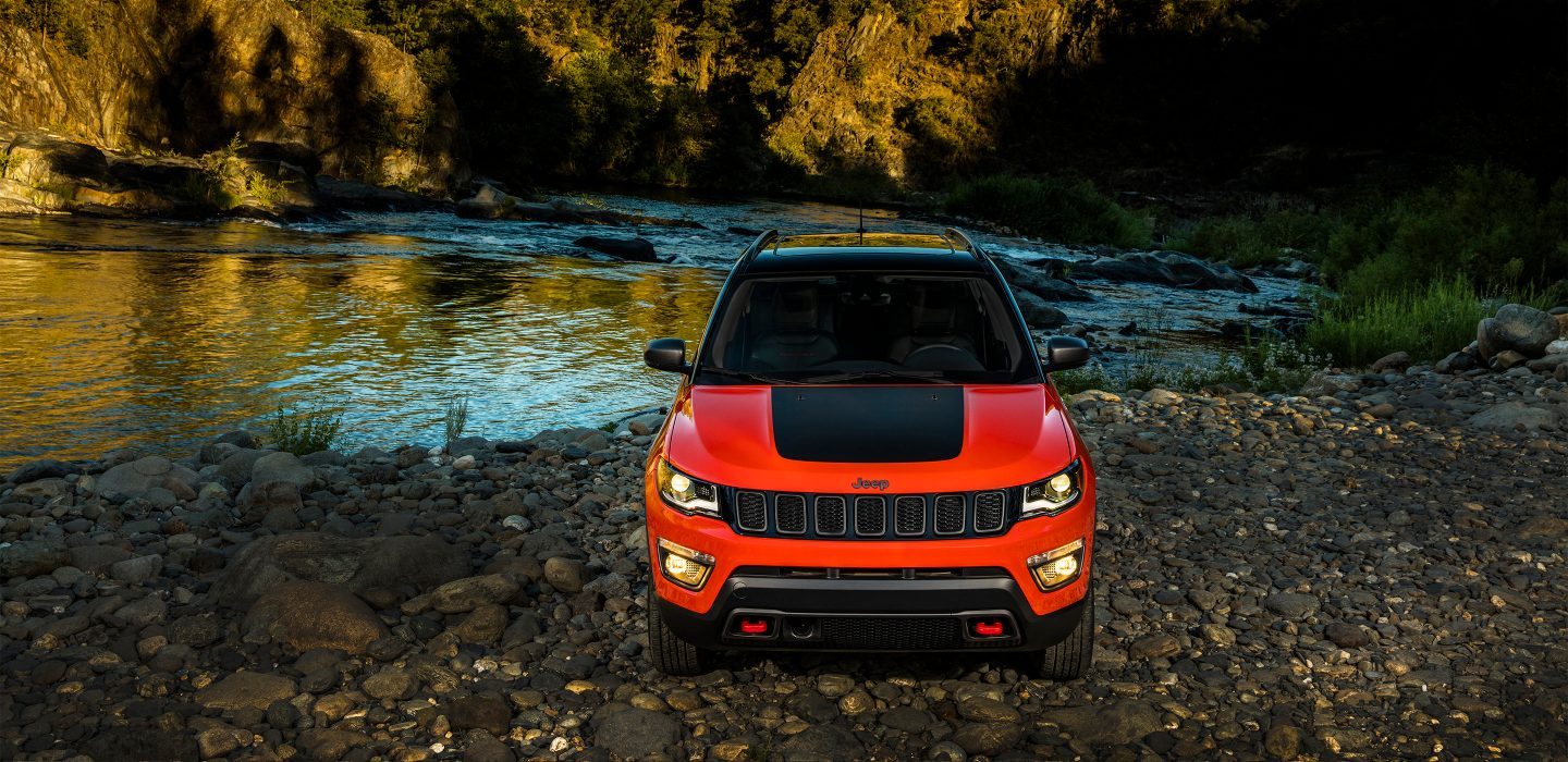 2017 All New Jeep Compass Exterior Front