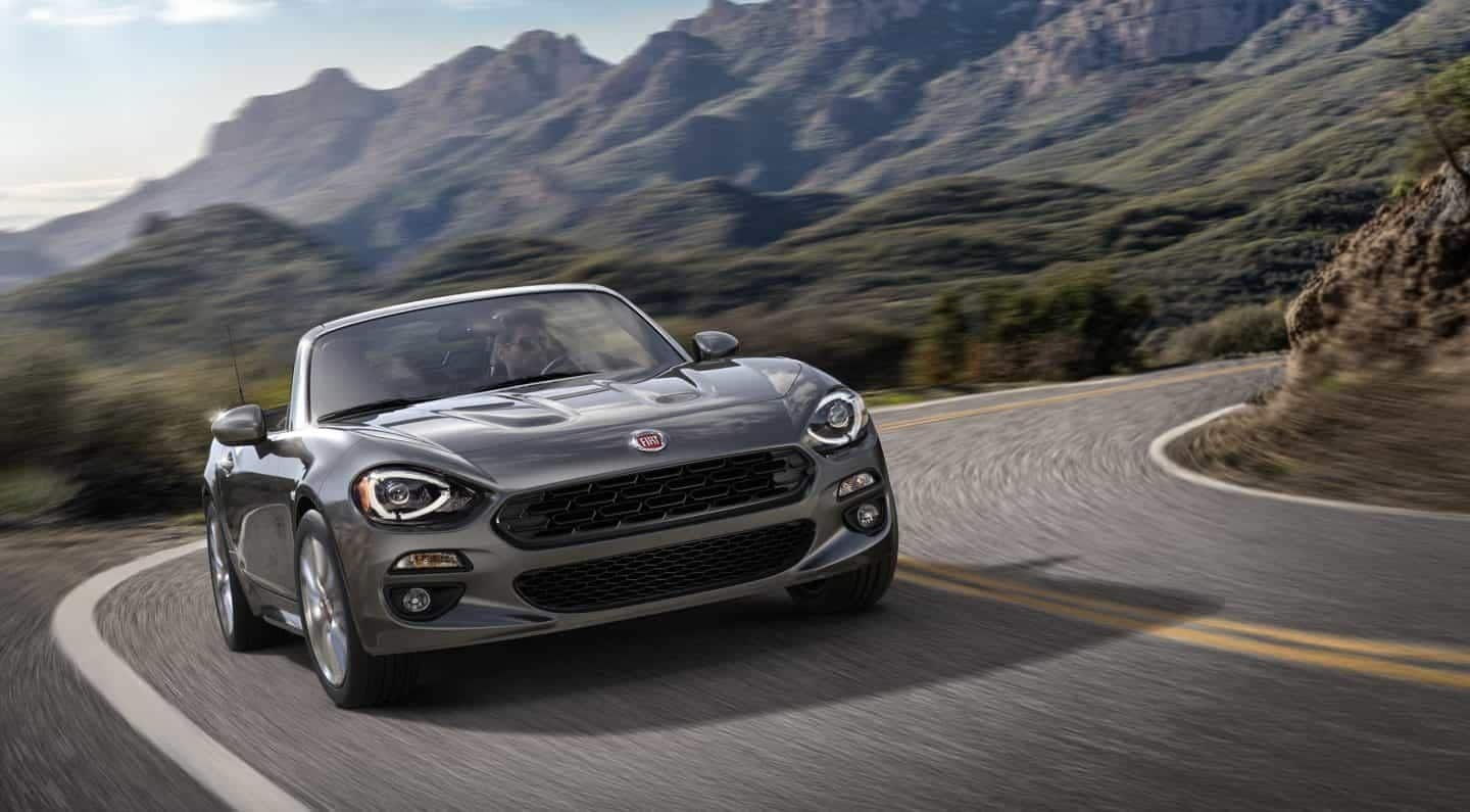 2018 FIAT 124 Spider Grey Exterior Front View
