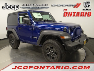 New 2018 Jeep Wrangler SPORT 4X4 Sport Utility 1C4GJXAN6JW283971 for sale in Ontario, CA at Jeep Chrysler Dodge of Ontario