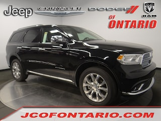 New 2018 Dodge Durango CITADEL AWD Sport Utility 1C4RDJEG2JC498192 for sale in Ontario, CA at Jeep Chrysler Dodge of Ontario