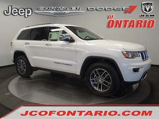 New 2018 Jeep Grand Cherokee LIMITED 4X2 Sport Utility 1C4RJEBM2JC514482 for sale in Ontario, CA at Jeep Chrysler Dodge of Ontario