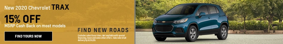 New 2020 Chevrolet Trax
