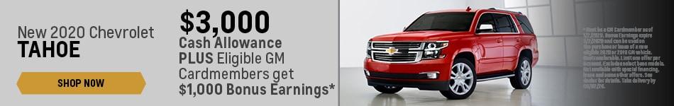 New 2020 Chevrolet Tahoe