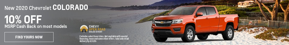 New 2020 Chevrolet Colorado