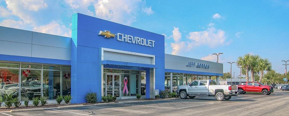 Jeff Gordon Chevrolet Serving Wilmington Jacksonville North Carolina