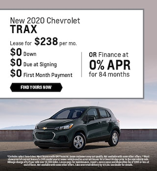 New 2020 Chevrolet Trax