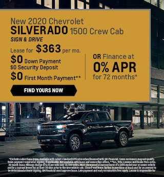 New 2020 Chevrolet Silverado