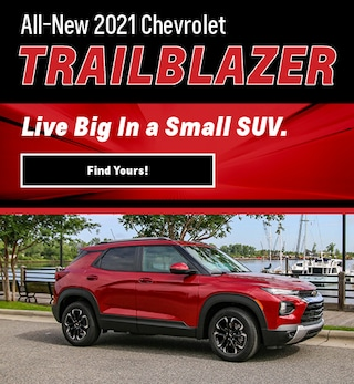 All New 2021 Chevrolet Trailblazer