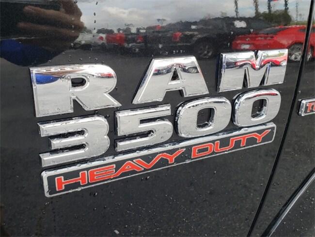 New 2018 Ram 3500 TRADESMAN CREW CAB CHASSIS 4X4 172.4 WB Crew Cab Brilliant Black Crystal ...