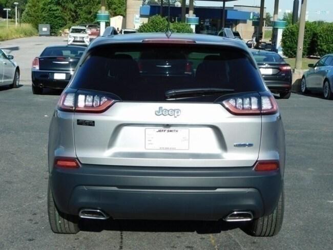 Used 2019 Jeep Cherokee Suv Latitude Billet Silver