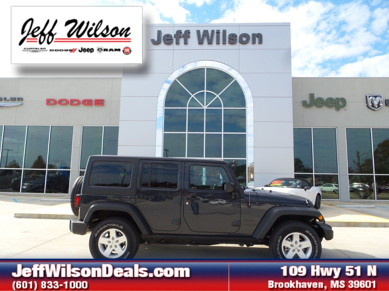 2016 Jeep Wrangler JK Unlimited Sport 4X4 SUV
