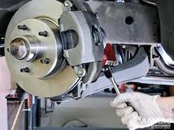 Brake Pads Installed