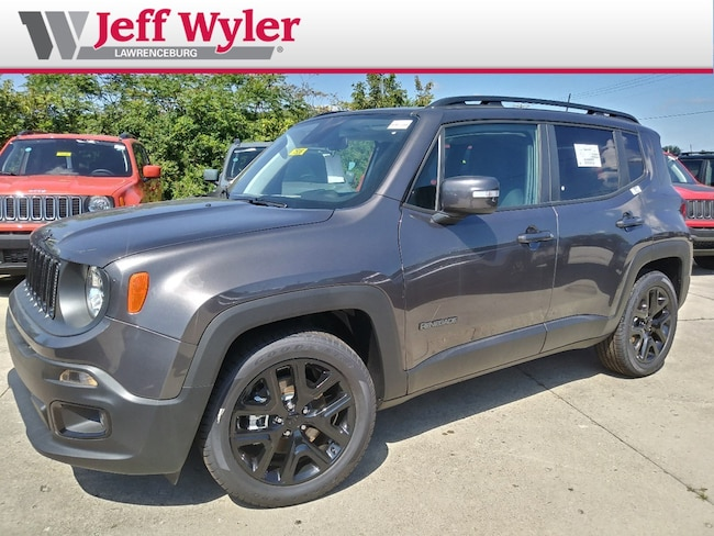 New 2018 Jeep Renegade ALTITUDE 4X2 Sport Utility Lawrenceburg