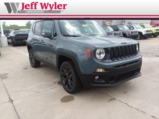 New 2018 Jeep Renegade ALTITUDE 4X4 Sport Utility Lawrenceburg