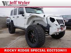 2017 Jeep Wrangler JK UNLIMITED SAHARA 4X4 Sport Utility Lawrenceburg