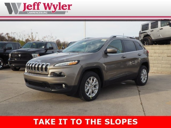 New 2018 Jeep Cherokee LATITUDE PLUS FWD Sport Utility Lawrenceburg