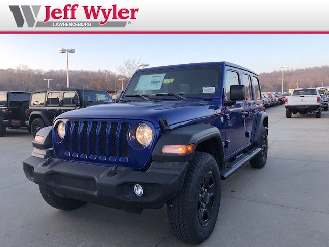 New 2018 Jeep Wrangler UNLIMITED SPORT 4X4 Sport Utility Lawrenceburg