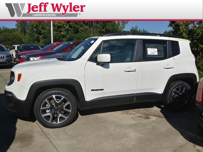 New 2018 Jeep Renegade LATITUDE 4X2 Sport Utility Lawrenceburg