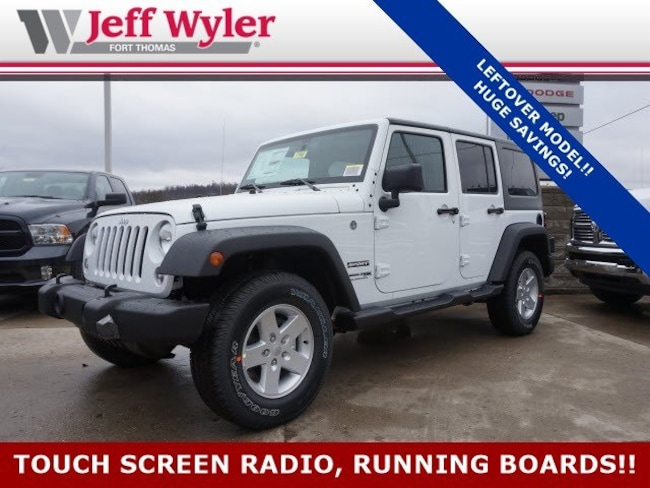 New 2018 Jeep Wrangler Unlimited WRANGLER JK UNLIMITED SPORT S 4X4 Sport Utility Ft Thomas