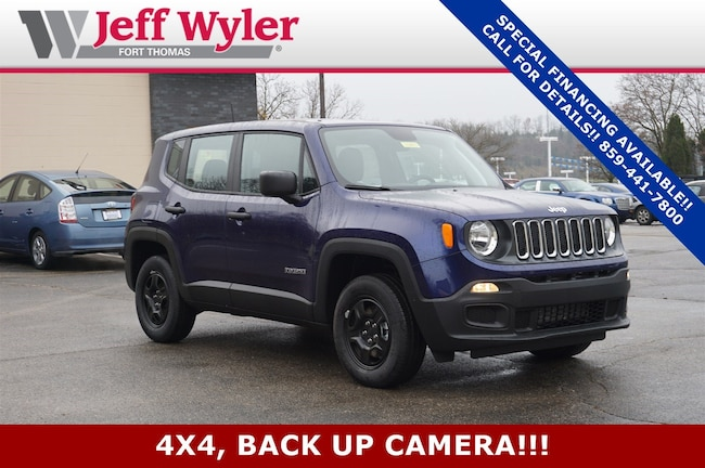 New 2018 Jeep Renegade SPORT 4X4 Sport Utility Ft Thomas