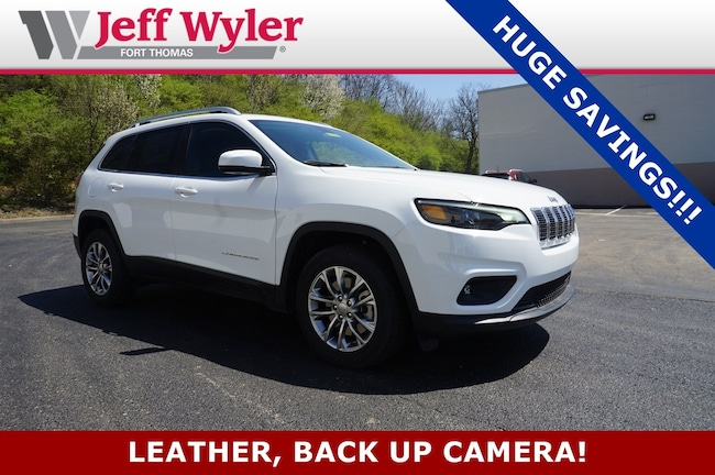 New 2019 Jeep Cherokee LATITUDE PLUS FWD Sport Utility Ft Thomas