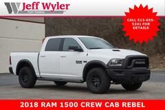 2018 Ram 1500 REBEL CREW CAB 4X4 5'7 BOX Crew Cab