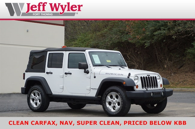 Used 2013 Jeep Wrangler Unlimited 4WD  Rubicon Ft Thomas