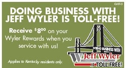 Doing  Business With Jeff Wyler Is TOLL-FREE!