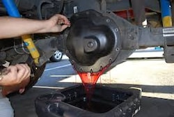 Rear Differential Fluid Replacement