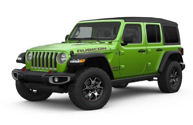 New 2019 Jeep Wrangler UNLIMITED RUBICON 4X4 Sport Utility Springfield OH