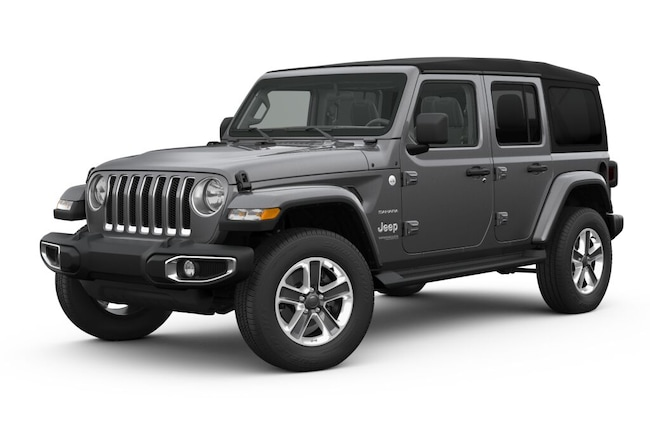 New 2018 Jeep Wrangler UNLIMITED SAHARA 4X4 Sport Utility Springfield OH