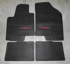 KIA ALL WEATHER FLOOR MATS SPECIAL