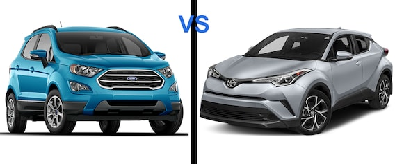 New Ford EcoSport vs Toyota C-HR | Jenkins Ford Inc