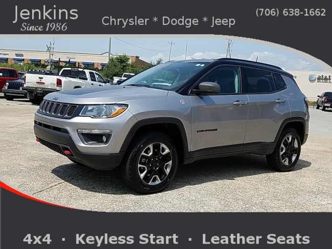 Used 2018 Jeep Compass Trailhawk 4x4 SUV near Chattanooga