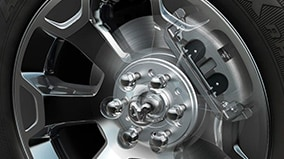 LARGEST-IN-CLASS BRAKES