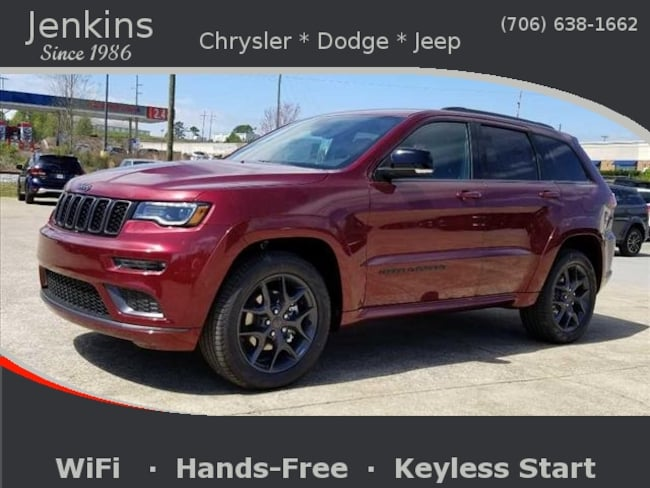 New 2019 Jeep Grand Cherokee LIMITED X 4X4 Sport Utility near Chattanooga