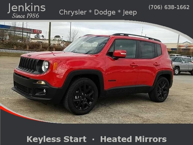 New 2018 Jeep Renegade ALTITUDE 4X2 Sport Utility near Chattanooga