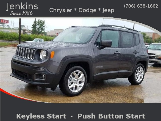 New 2018 Jeep Renegade LATITUDE 4X2 Sport Utility near Chattanooga