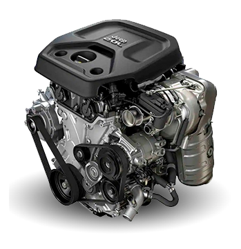 All-New 2.0L Turbo Engine