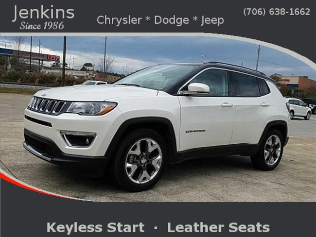New 2019 Jeep Compass LIMITED FWD Sport Utility near Chattanooga