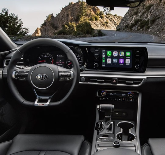 2021 Kia K5 Interior & Infotainment Touchscreen