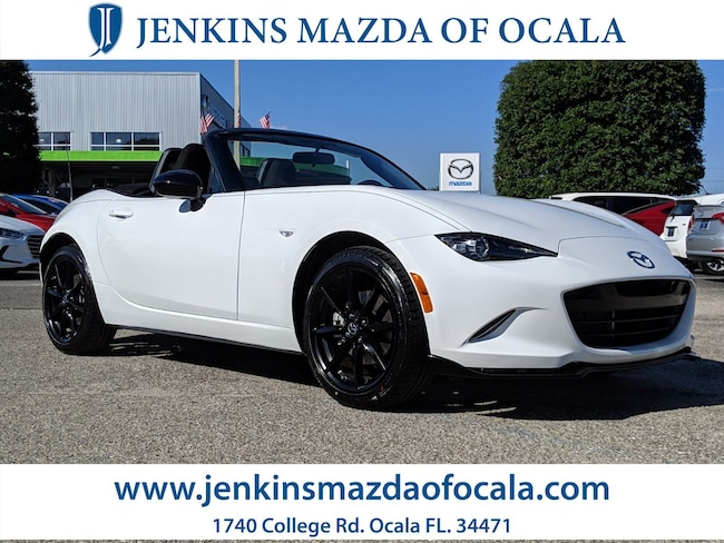 New  2019 Mazda Mazda MX-5 Miata Club Convertible For Sale/Lease Ocala, FL