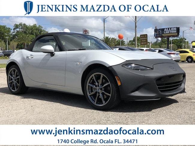 Certifed Pre Owned 2017 Mazda Mazda MX-5 Miata Grand Touring Convertible For Sale Ocala, FL
