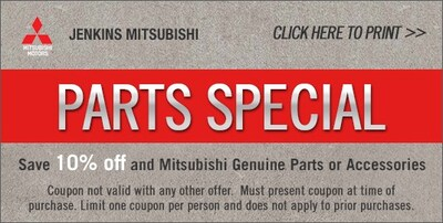 10% Off OEM Parts and Accessories